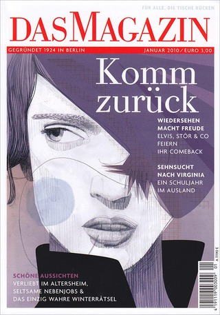 "DAS MAGAZIN ""comebacks"" / cover"