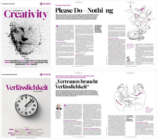 Evonik magazine / essays